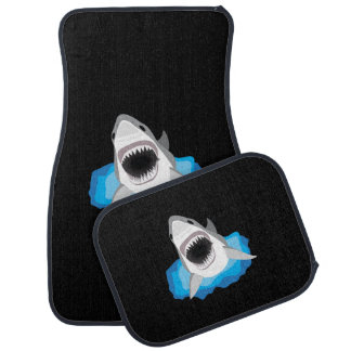 Shark Attack - Great White Shark Car Mat
