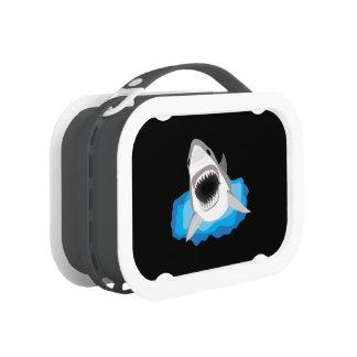 Shark Attack - Great White Shark Yubo Lunch Box