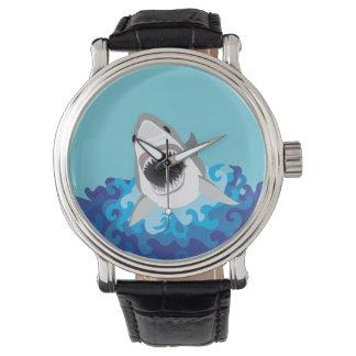 Shark Attack - Great White Shark Watches