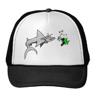 Shark Attack Mesh Hats