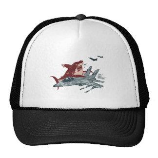 Shark Attack Mesh Hat