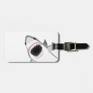 Shark Attack Luggage Tags