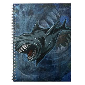 Shark Attack Note Books