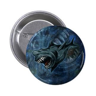 Shark Attack Pinback Buttons