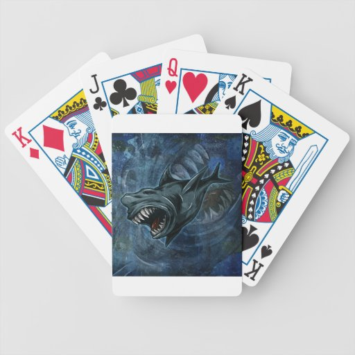 Shark Attack! Deck Of Cards
