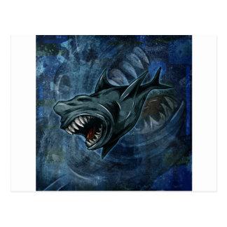 Shark Attack! Postcard