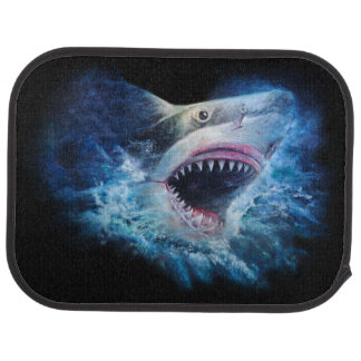 Shark Attack Rear Car Mat