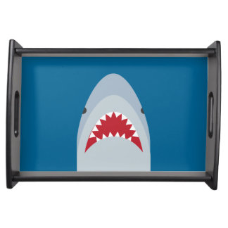Shark Attack Serving Tray