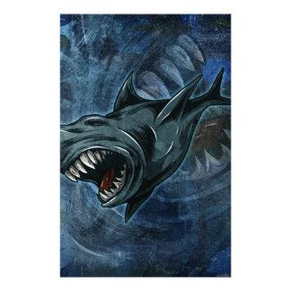 Shark Attack! Custom Stationery