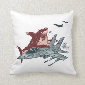 Shark Attack Throw Cushion