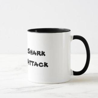 Shark Attack with a shark font