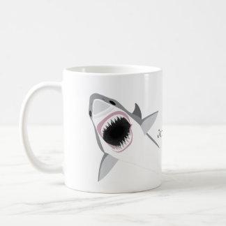 Shark Attack with Your Name Coffee Mug