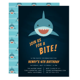 Shark Party Invitations Announcements Zazzlecomau