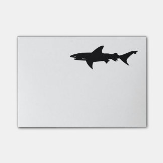 Shark  Beware of Sharks Drawing Post-it Notes