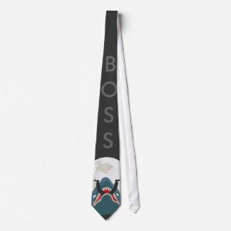 Shark Boss Tie