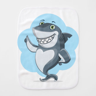 shark burp cloth