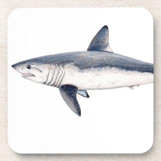 Shark cailon drink coaster