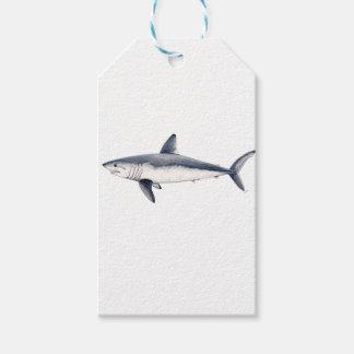 Shark cailon gift tags