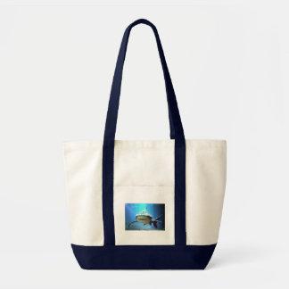Shark Canvas Tote Bag