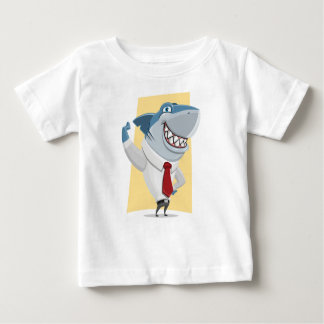 shark cartoon baby T-Shirt