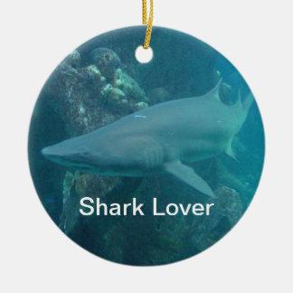 Shark Christmas Ornament