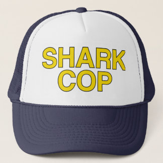 SHARK COP slogan hat