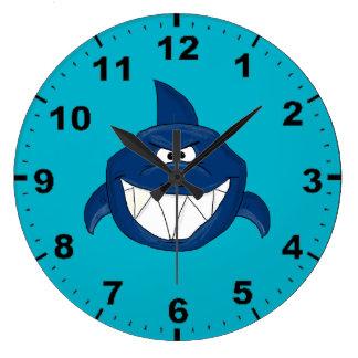 Shark design wrist watches large clock