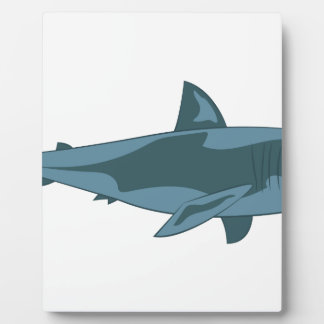 Shark Display Plaque
