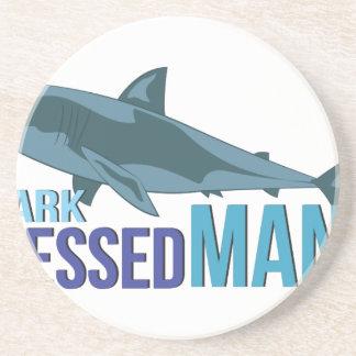 Shark Dressed Man Coaster