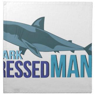 Shark Dressed Man Napkin