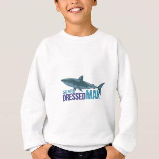 Shark Dressed Man Sweatshirt