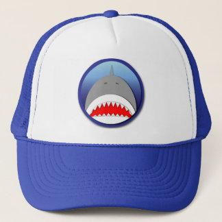 Shark Emblem Trucker Hat