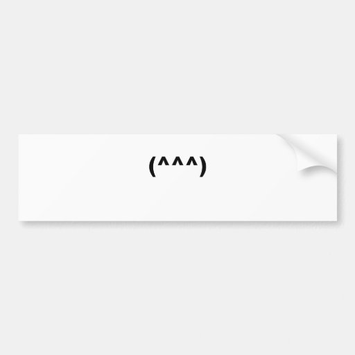 shark emoticon symbol shirt.png bumper stickers