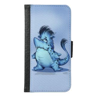 SHARK FISH CARTOON Galaxy S6 Wallet Case