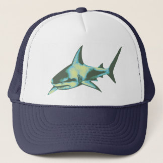shark fish, wild animals trucker hat