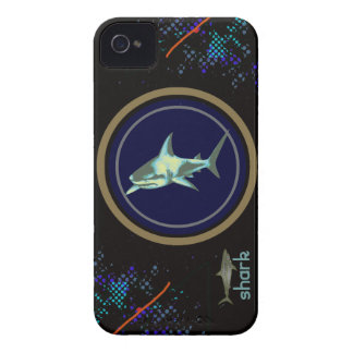 shark fish, wild sea animal iPhone 4 Case-Mate cases
