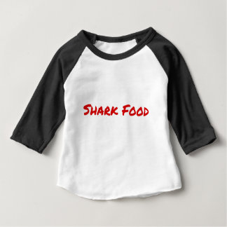 Shark Food Red Baby T-Shirt