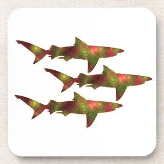 Shark Frenzy Coasters