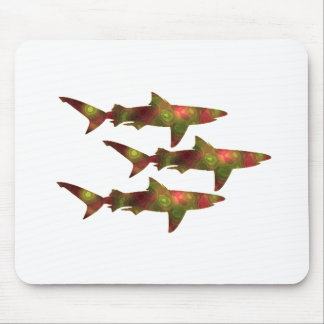 Shark Frenzy Mouse Pad