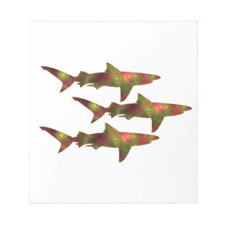 Shark Frenzy Notepad