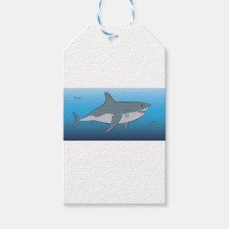 shark gift tags