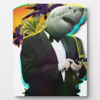 SHARK GUY PLAQUE