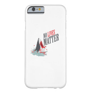 Shark Halloween Horror Costume No Lives Matter Barely There iPhone 6 Case