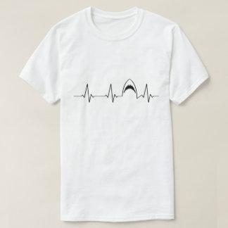Shark Heartbeat | I Love Sharks | Jaws T-Shirt