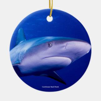Shark image for Circle-Ornament Round Ceramic Decoration
