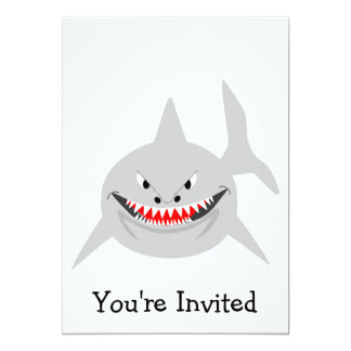 Shark Invitation For Any Occasion