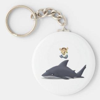 Shark Jumper Key Ring