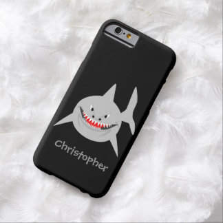 Shark Just Add Name Barely There iPhone 6 Case