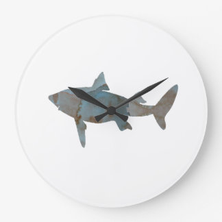 Shark Large Clock