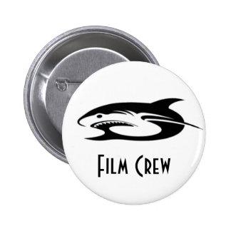 Shark Logo Products 6 Cm Round Badge